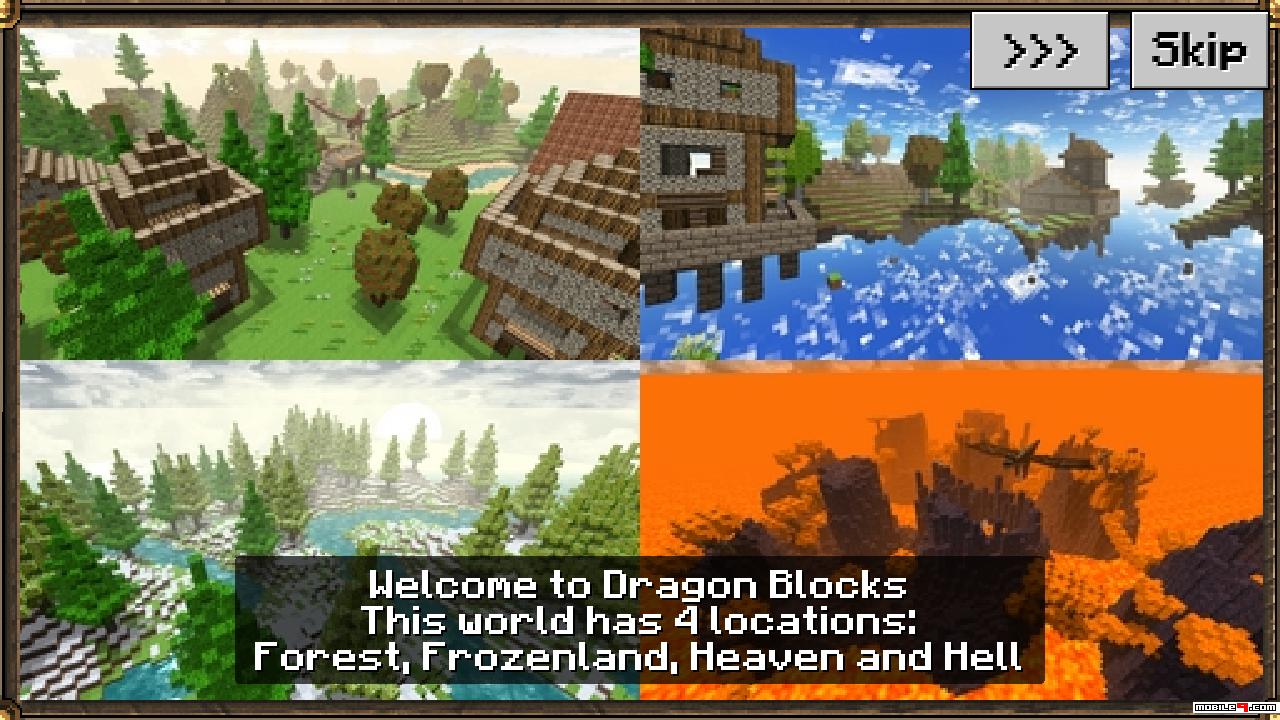 Dragon Blocks Craft