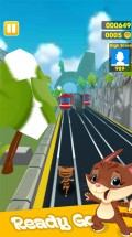 Subway Angela run Game mobile app for free download