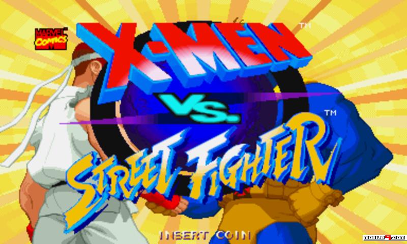 Download X-Men Vs  Street Fighter Mobile Phone App