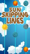 Sun Skipping Lines mobile app for free download