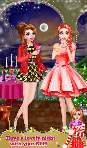 Christmas Spa And Makeup