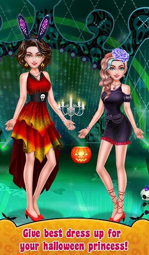 Halloween Makeup Me Girls