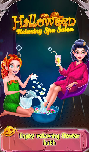 Halloween Relaxing Spa Salon