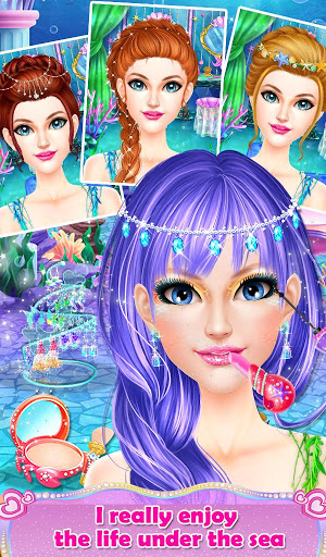 Mermaid Salon Makeover Fun