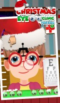 Christmas Eye Clinic for Kids mobile app for free download