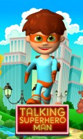 Talking Superhero Man mobile app for free download