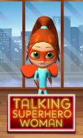 Talking Superhero Woman mobile app for free download