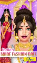 Indian Bride Fashion Salon mobile app for free download