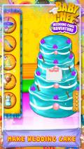 Baby Chef Wedding Cake Adventure mobile app for free download