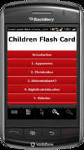 Children Flash Card mobile app for free download
