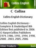 Collins English Dictionary Complete &  Unabridged  8th Edition mobile app for free download