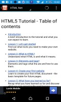Free HTML Tutorials mobile app for free download