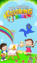 Kids Sparkles Coloring Book mobile app for free download