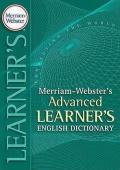 Merriam Webster\'s Advanced Learner\'s English Dictionary 2008 mobile app for free download