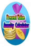 Present Value Annuity Calculator mobile app for free download