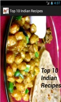 Top 10 Indian Recipes mobile app for free download
