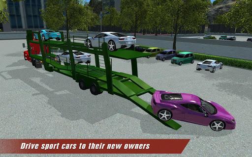 Extreme Car Transport Truck