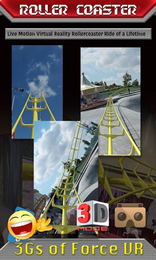 Vr Rollercoaster 3gs Of Force