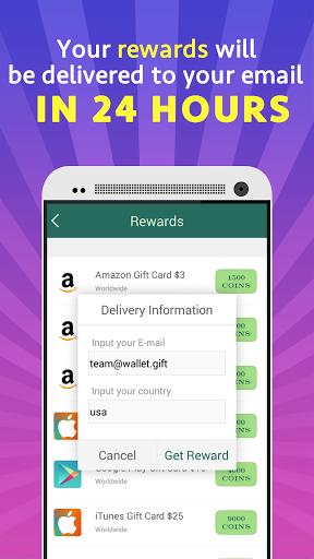 Gift Wallet   Free Reward Card