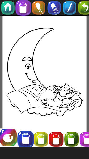 Lullaby Coloring Book