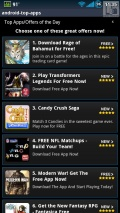 Android Top Apps List mobile app for free download