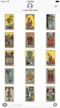 Beautiful Tarot Stickers mobile app for free download