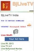 BjLiveTVeX 6 mobile app for free download