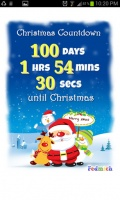 Christmas Countdown mobile app for free download