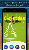 Christmas Fake Caller mobile app for free download