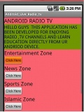 DROID TV LIVE mobile app for free download