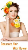 Decorate Hair with Flowers mobile app for free download