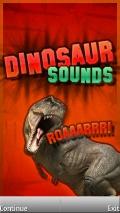 Dinosaur Sounds mobile app for free download