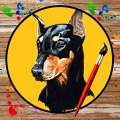 Draw Dogs 240x400 mobile app for free download
