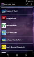 Free Radio Rock mobile app for free download