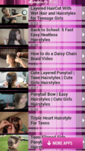 Hairstyles for Teens mobile app for free download