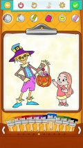 Halloween Coloring Pages mobile app for free download