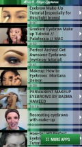 How to Shape Eyebrows mobile app for free download