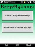 KeepMyTones mobile app for free download