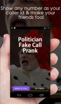 Politician Fake call Prank mobile app for free download