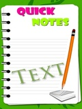 Quick Notes mobile app for free download