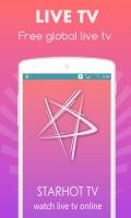 StarHot Live TV mobile app for free download