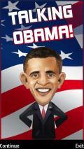Talking Obama mobile app for free download