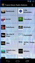 Trance Music Radio Stations mobile app for free download