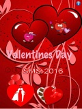 Valentine day SMS 480X80 mobile app for free download