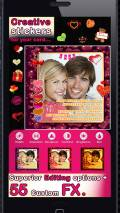 Valentine Card Creator mobile app for free download