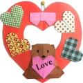 Valentine Paper Craft mobile app for free download