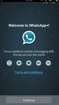WhatsApp Messanger + mobile app for free download