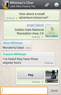 WhatsApp Messenger mobile app for free download