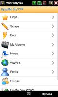WinMo Hyves mobile app for free download