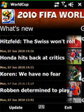 World Cup 2010 mobile app for free download